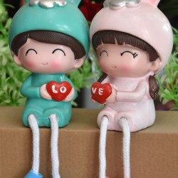 Hanging Couple Doll
